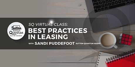 Virtual: Best Practices in Leasing with Sandi Puddefoot tickets