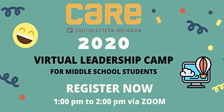 Middle School Virtual Leadership Camp tickets