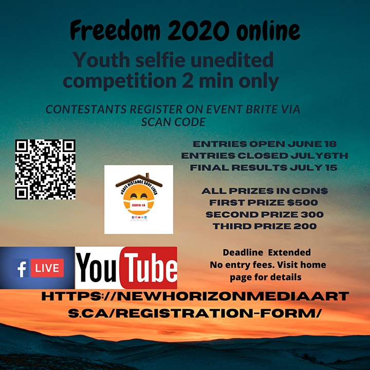 Freedom 2020 An online event image