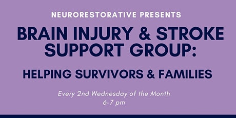 Brain Injury and Stroke Support Group tickets