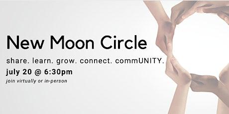 CommUNITY New Moon Circle (Virtual) tickets