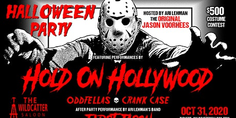 HALLOWEEN AT THE WILDCATTER SALOON WITH HOLD ON HOLLYWOOD tickets