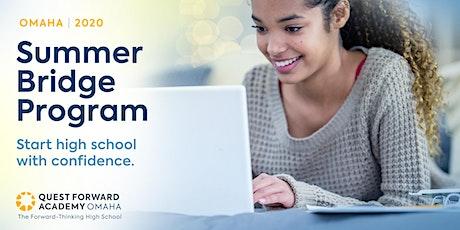 Summer Bridge Program at Quest Forward Academy Omaha tickets