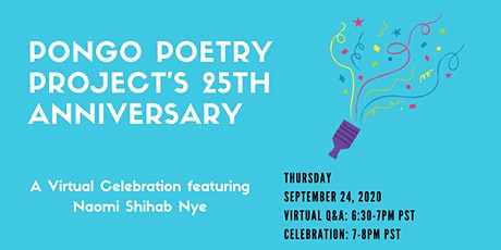 Pongo  Poetry Project's 25th Anniversary tickets