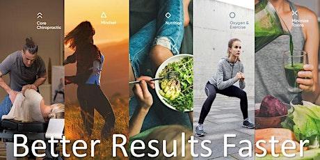 Better Results Faster Webinar tickets
