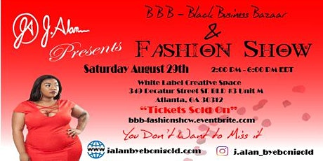BBB- Black Business Bazaar  & Fashion Show tickets