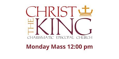 12:00pm Monday Mass tickets