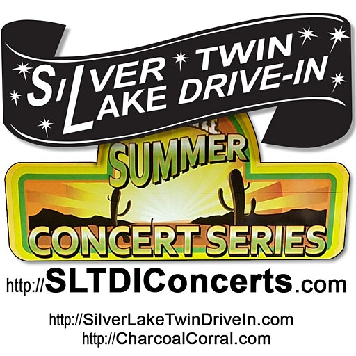 Charcoal Corral &  Silver Lake Twin Drive-In logo