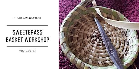 Sweetgrass Basket Workshop tickets