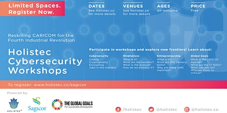 Holistec: Cybersecurity, Mindfulness & Entrepreneurship- Powered by Sagicor tickets