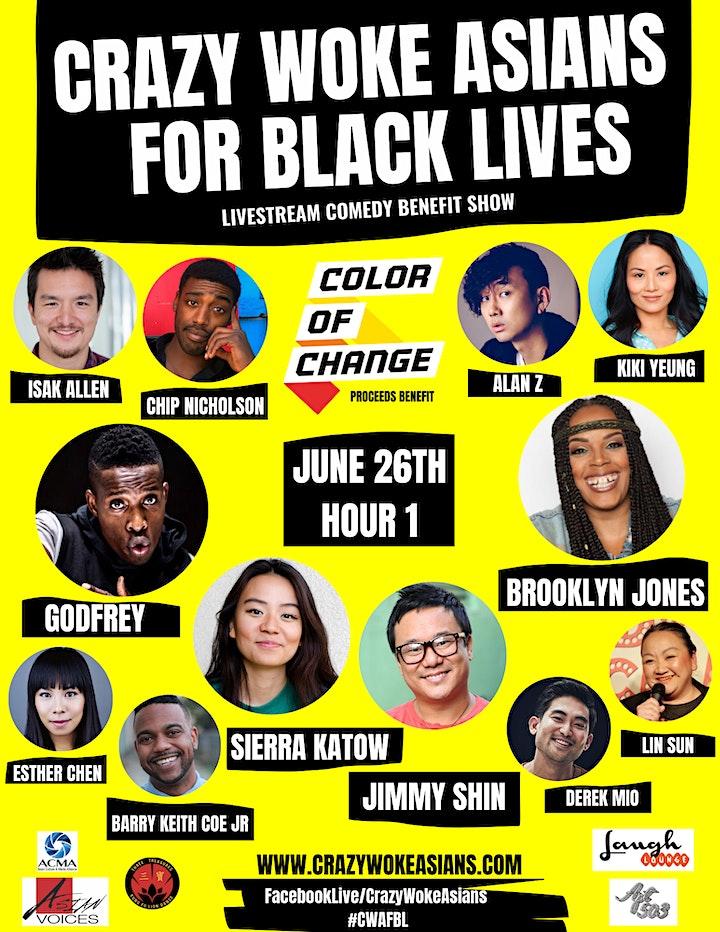 Crazy Woke Asians For Black Lives image