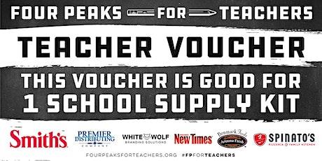 Four Peaks For Teachers Teacher Kit Pickups - Havasu, AZ (Smith's) tickets