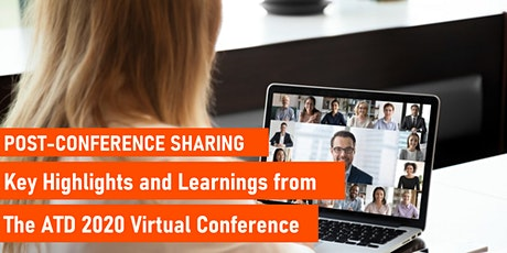 Highlights and Key Learnings from the ATD 2020 Virtual Conference tickets