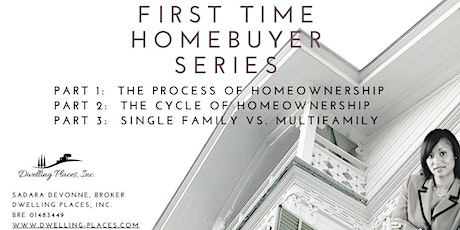 First Time Homebuyers Series tickets