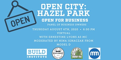 Open City Hazel Park: Business in the time of COVID-19 tickets