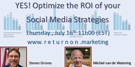 How to improve ROI of your social media strategies? tickets