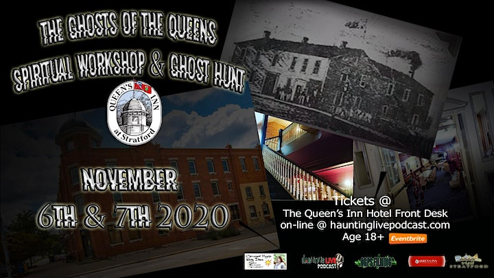The Ghosts of the Queens Spiritual Workshop & Ghost Hunt image