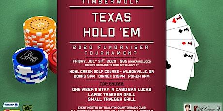 Timberwolf Texas Hold 'Em tickets