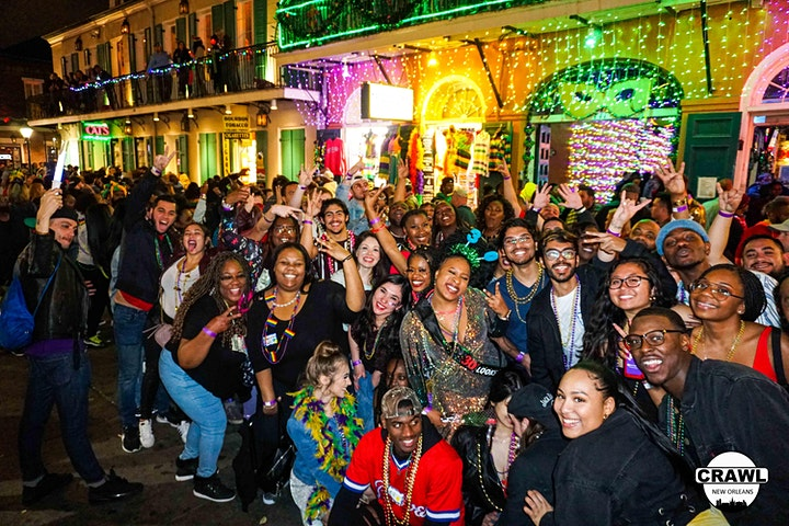 New Orleans -  VIP Bar & Club Crawl Party Tour image
