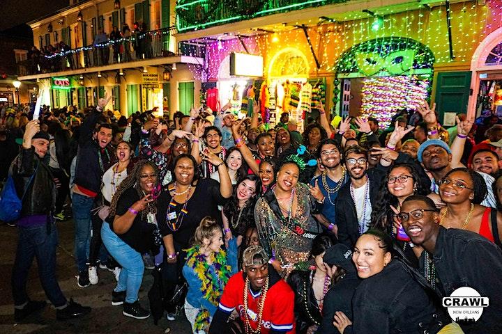 Crawl New Orleans  - Premium Night Party Crawl image
