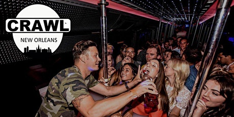Crawl New Orleans  - Premium Night Party Crawl tickets
