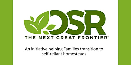 """""""Operation Self-Reliance - Helping Families Achieve Greater Self-Reliance tickets"""