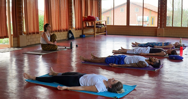 Saturday Morning Yoga & Meditation with Anna - mixed levels image