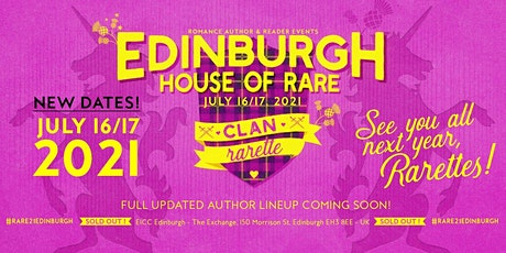 Romance Author & Reader Events presents RARE20 Edinburgh tickets