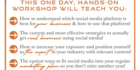 Social Media Workshop for Business Owners: How to Grow Your Business Online tickets