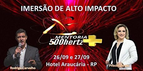 IMERSÃO - MÉTODO 500 HERTZ  + ingressos