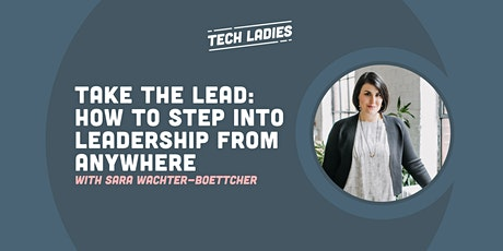 *Webinar* Take the Lead: How to step into leadership from anywhere tickets