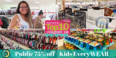FREE ENTRY - Public 75% off Kids EveryWEAR Consignment Sale tickets