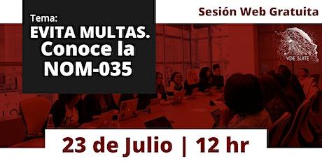 Norma Oficial Mexicana NOM-035-STPS-2018, Factores de riesgo psicosocial boletos