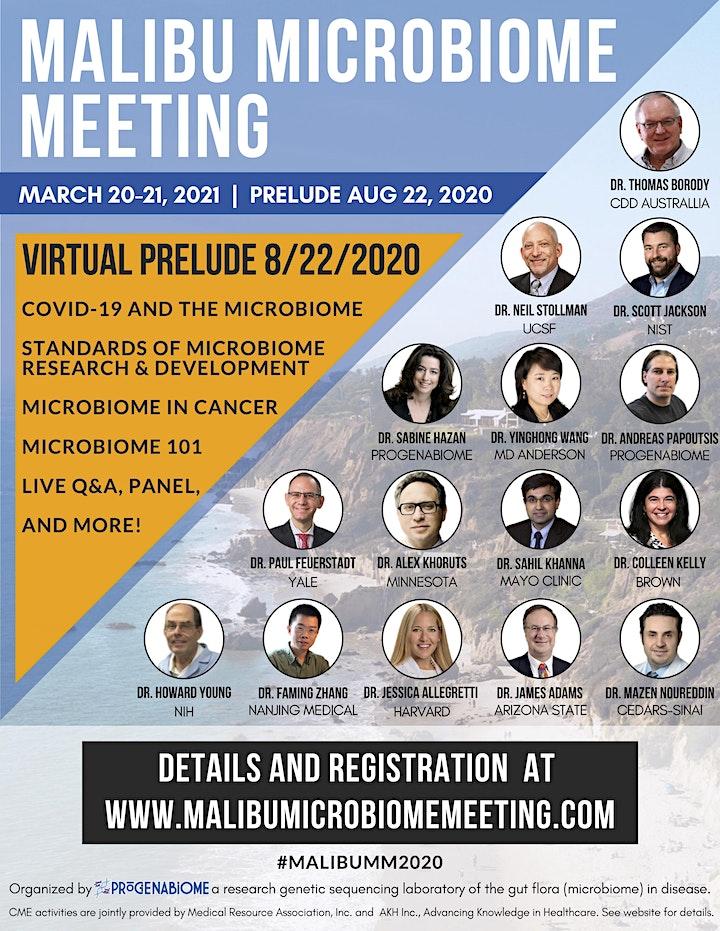 Malibu Microbiome Meeting Virtual Prelude Rerun image