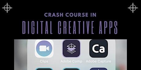 Crash Course in Creative Digital Apps tickets