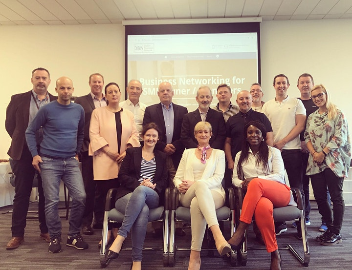 Dublin Business Network (DBN) - Weekly morning virtual meetup image