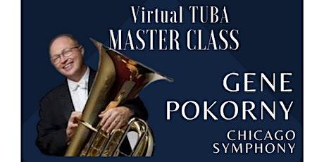 Low Brass Master Class: Chicago Symphony's Gene Pokorny tickets