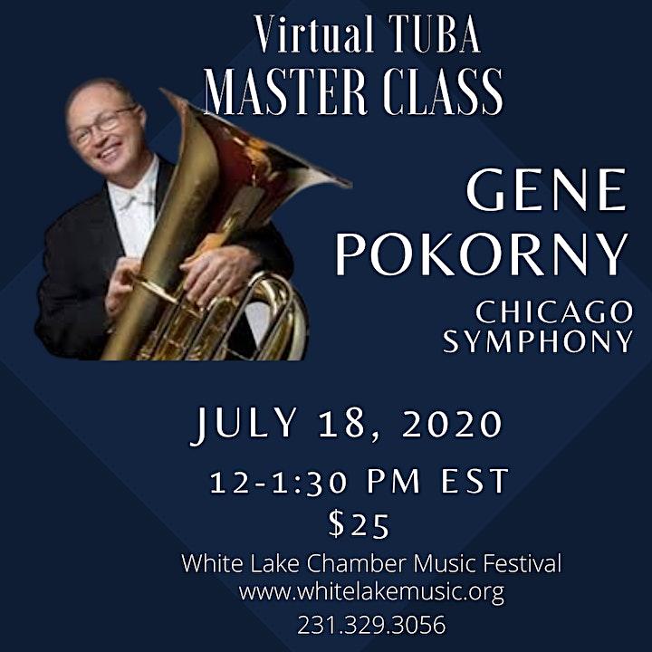 Low Brass Master Class: Chicago Symphony's Gene Pokorny image