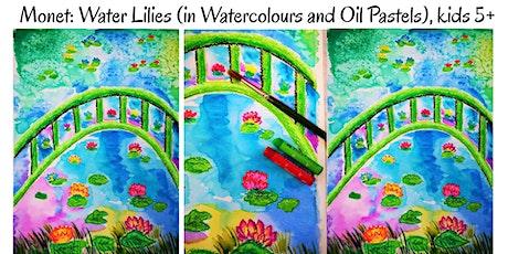MONET: Water Lilies  Children Art Workshop tickets