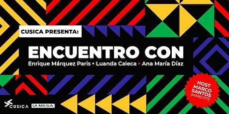 Cusica Presenta: Encuentro con Enrique Márquez Paris entradas