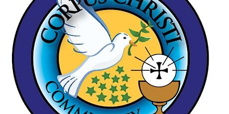 Corpus Christi Community - Sunday Mass tickets