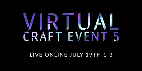 Virtual craft with us Event 5 tickets