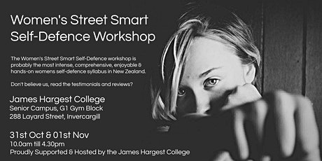 Women's Street Smart Self-Defence Workshop - Invercargill