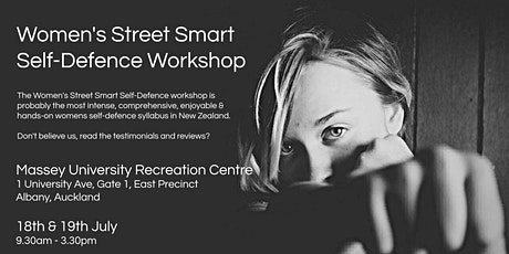 Women's Street Smart Self-Defence Workshop - Massey University, Albany tickets