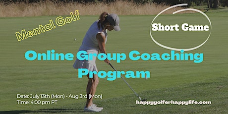 Online Mental Golf Group Coaching Program - Take 2 strokes off on each side tickets