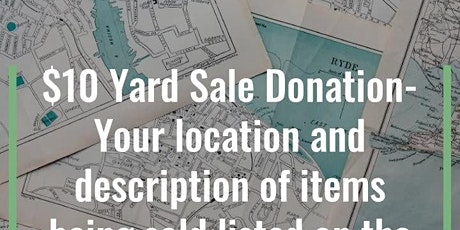 Community Yard Sale and Vendor Event tickets