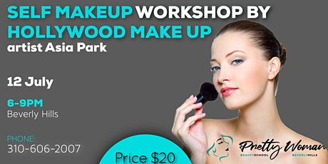 Makeup master class for yourself by Hollywood Make Up Artist Asia Park tickets