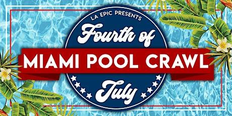 4th Of July Miami Pool Crawl tickets
