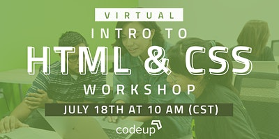Codeup Virtual Learn to Code Workshop: HTML & CSS