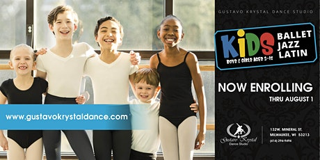 Kids Ballet/Jazz Level B Mon. and Thurs. @ 5 PM tickets